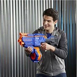 Foam Dart Gun Nerf Elite Toy Motorized Blaster Speed Loader