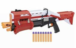 NERF FORTNITE TS-1 Blaster Toy Gun With 8 Nerf Mega darts Pe