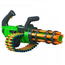 Gatling Machine Gun Motorized Automatic Rapid-Fire Belt Dart