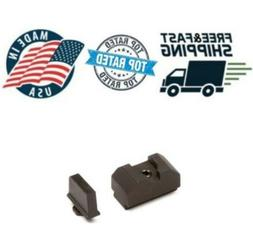 ZEV Technologies For Glock Sight Set - .300 Black Front & Co