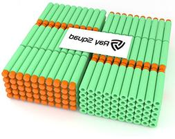 Green 300-Pieces Set, Ultimate Nerf Foam Toy Darts By Raythe