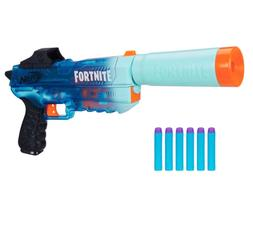 Nerf Gun Fortnite SD Rippley Elite Dart Blaster Silenced Han