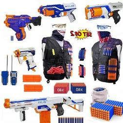 Nerf Gun N-Strike Darts Toy Blasters, Elite Guns And Tactica