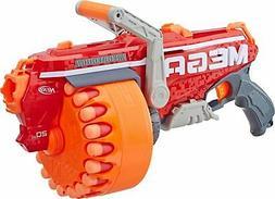 Nerf Gun N Strike Mega Blaster Rapid Fire Rifle Pistol w 20