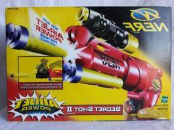 Nerf Gun Secret Shot II Air Jet Power VTG 1998 New In Box RA