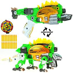 Big Mo's Toys Kids Gun - Soft Foam Bullet Kid Gift Dinosaur