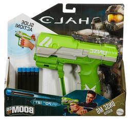 Halo UNSC M6 Blaster Green shoots 70 Ft by Boomco