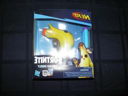Hasbro Nerf x Fortnite Peely Micro Blaster Mini Dart Gun FRE