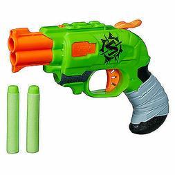 HASBRO NERF ZOMBIE STRKE DOUBLESTRIKE BLASTER GUN NEW IN PAC