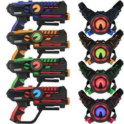 ArmoGear Infrared Laser Tag Blasters and Vests - Laser Battl