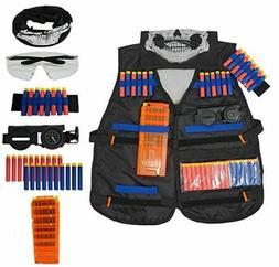 Kids Elite Tactical Vest Kit for N-Strike Elite Series Blast