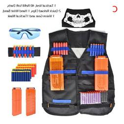 Kids Tactical Vest Kit for Nerf Guns N-Strike Elite Series f