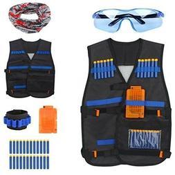 Kids Tactical Vest Kit for Nerf Guns N-Strike Elite Series B