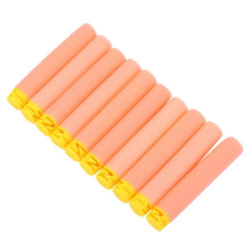 10 Colors Toy Soft Refill Bullets Darts For Nerf Kids