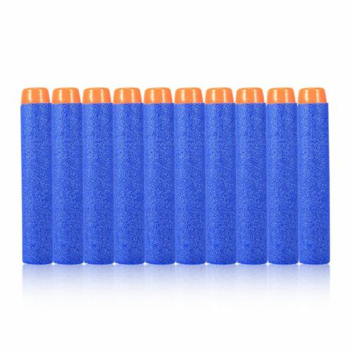 10-1000pcs Nerf Kids Toy Bullet Darts Round Head Blasters