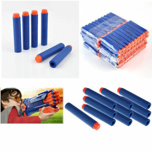 1000PCS NERF Kids Gun N-Strike Head Blasters Blue