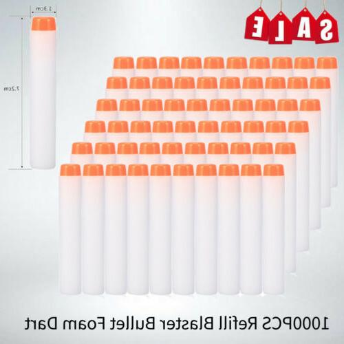 1000pcs eva foam soft gun soft darts