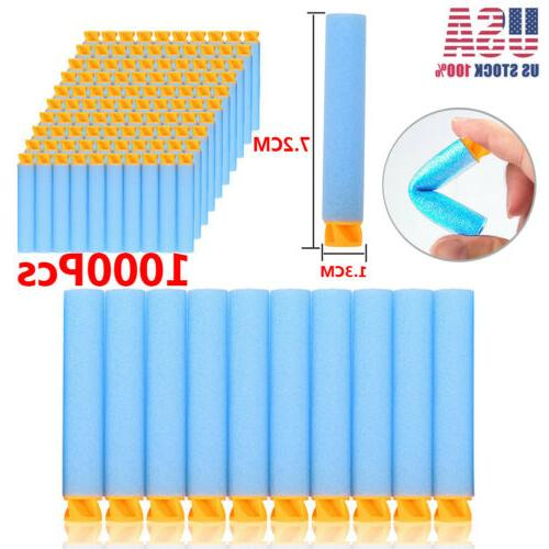 1000PCS Refill Bullet Darts For Nerf N-strike Elite Series B