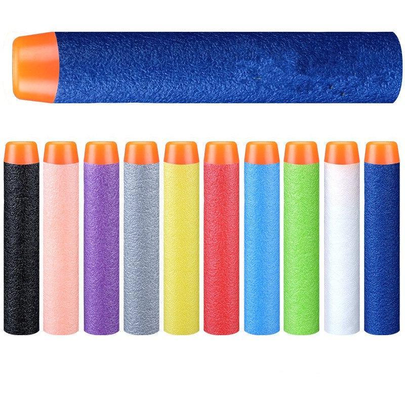 100pcs dart refills solid head foam bullets