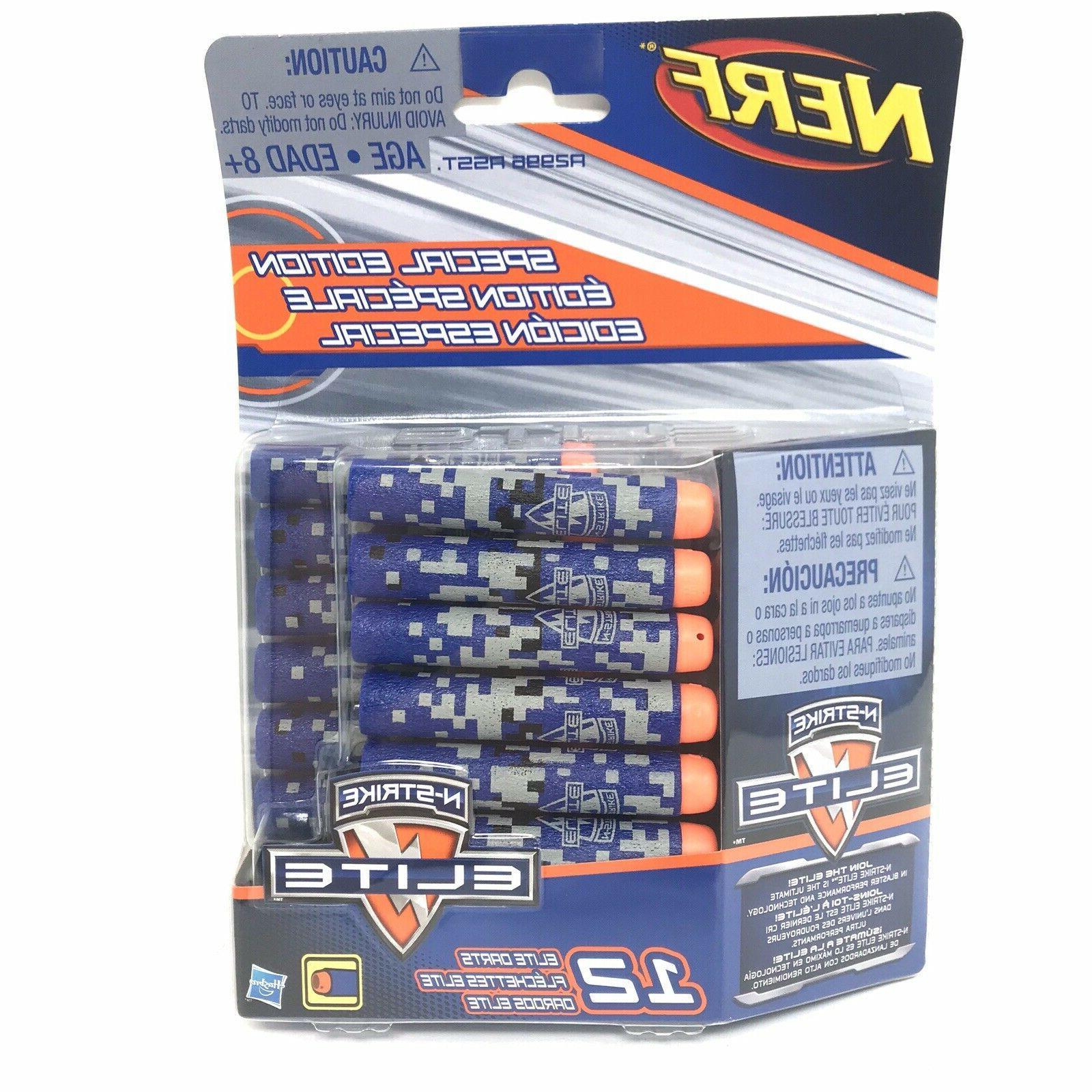NERF Nerf Elite Darts Pack - Blue Or Gray