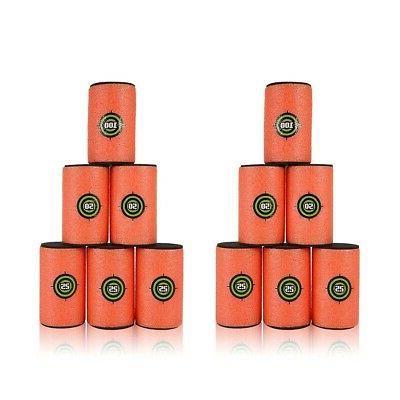 12pcs large dart foam gun shoot soft