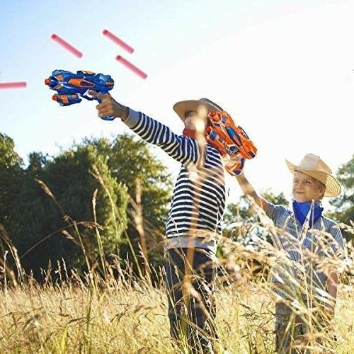 POKONBOY 2 Guns with Soft EVA Kids Hand Toys