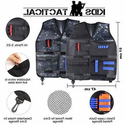 2 Vest Kit Guns Nerf fortnite Elite