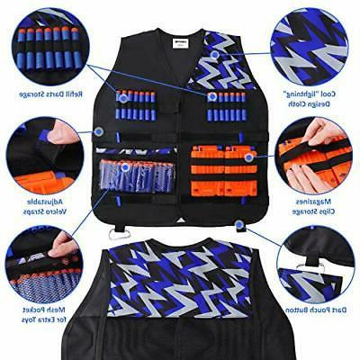 UWANTME 2 Tactical Vest Kit Nerf Guns Elite Series...