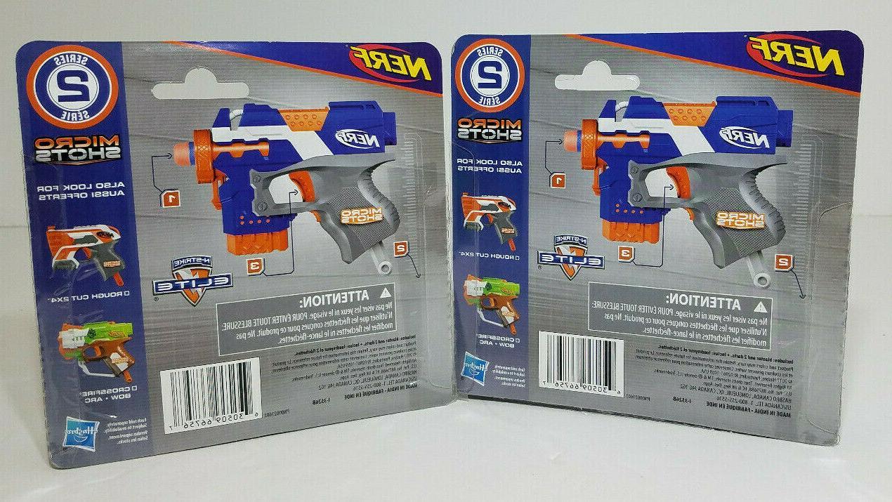 2 Shots STRYFE Mini N-Strike Series
