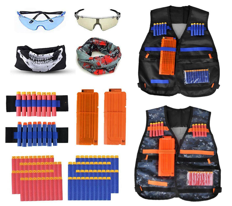 2 pack set kids tactical jacket vest