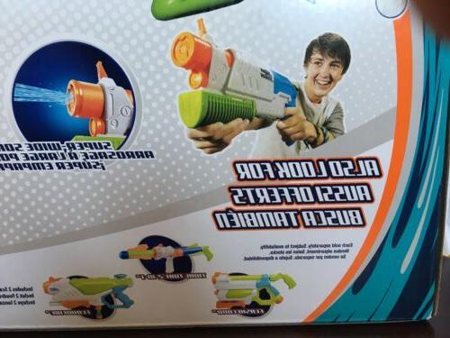 2 PACK Soaker Blast Gun Shoots to Feet Stream