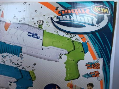 2 Nerf Soaker Scatter Blast Water Gun to Feet 5 NEW