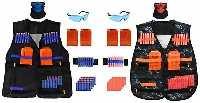 2 pack tactical vest kit for nerf