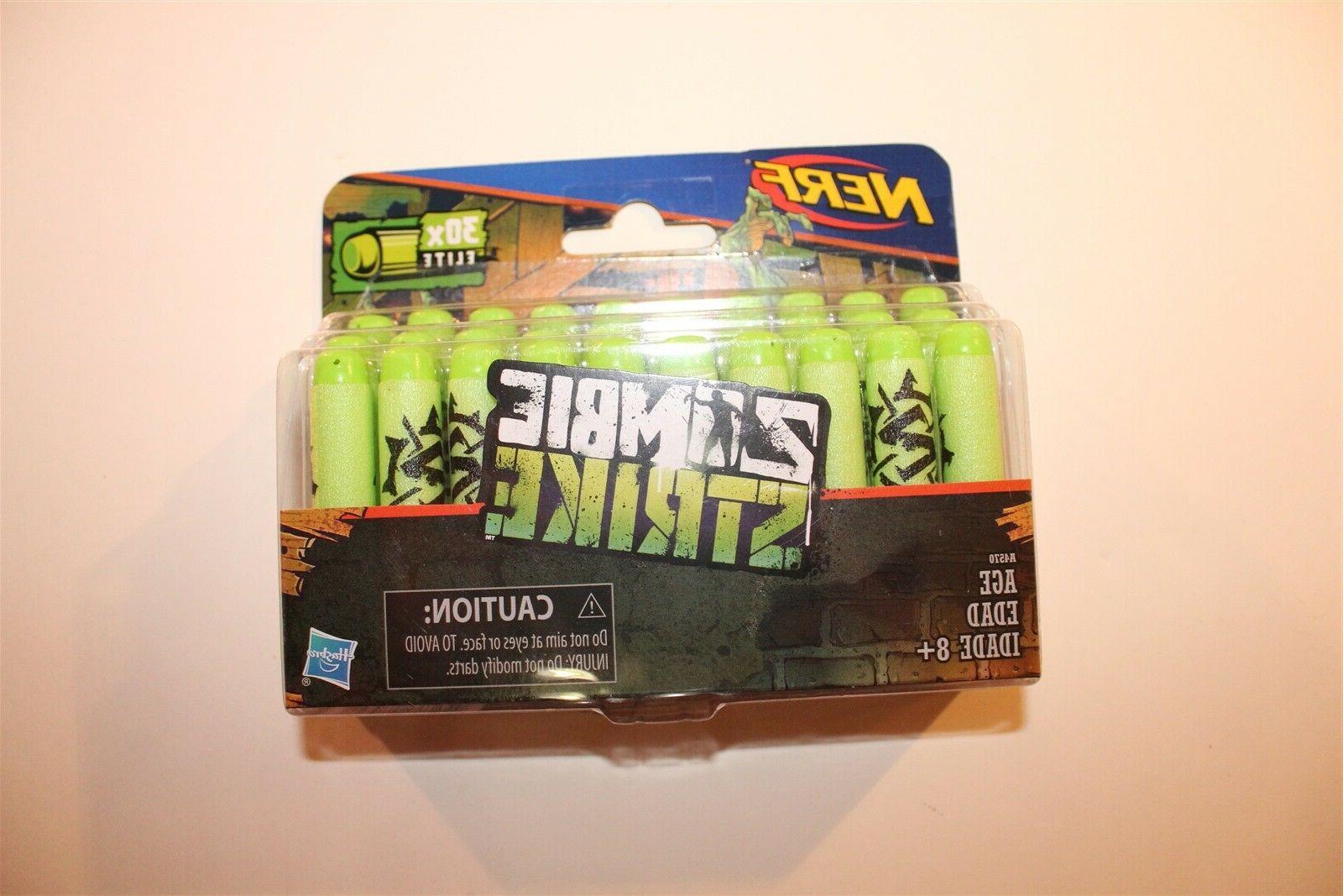 2 packs official zombie strike 30 dart