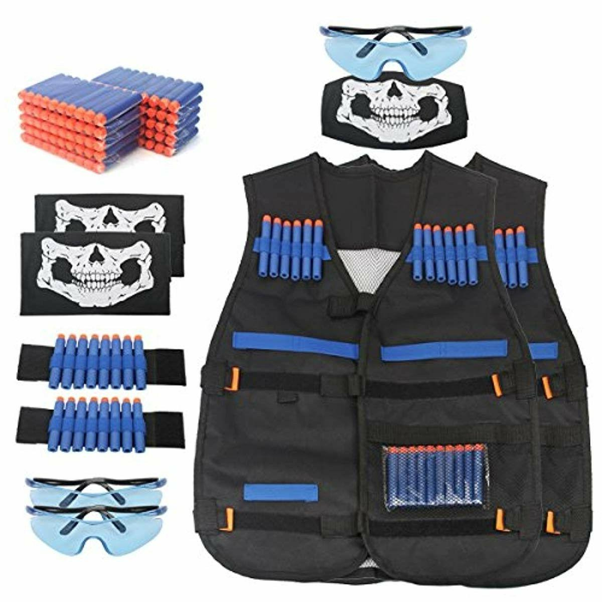 2 Suit Kit For Nerf Guns Series Accessory