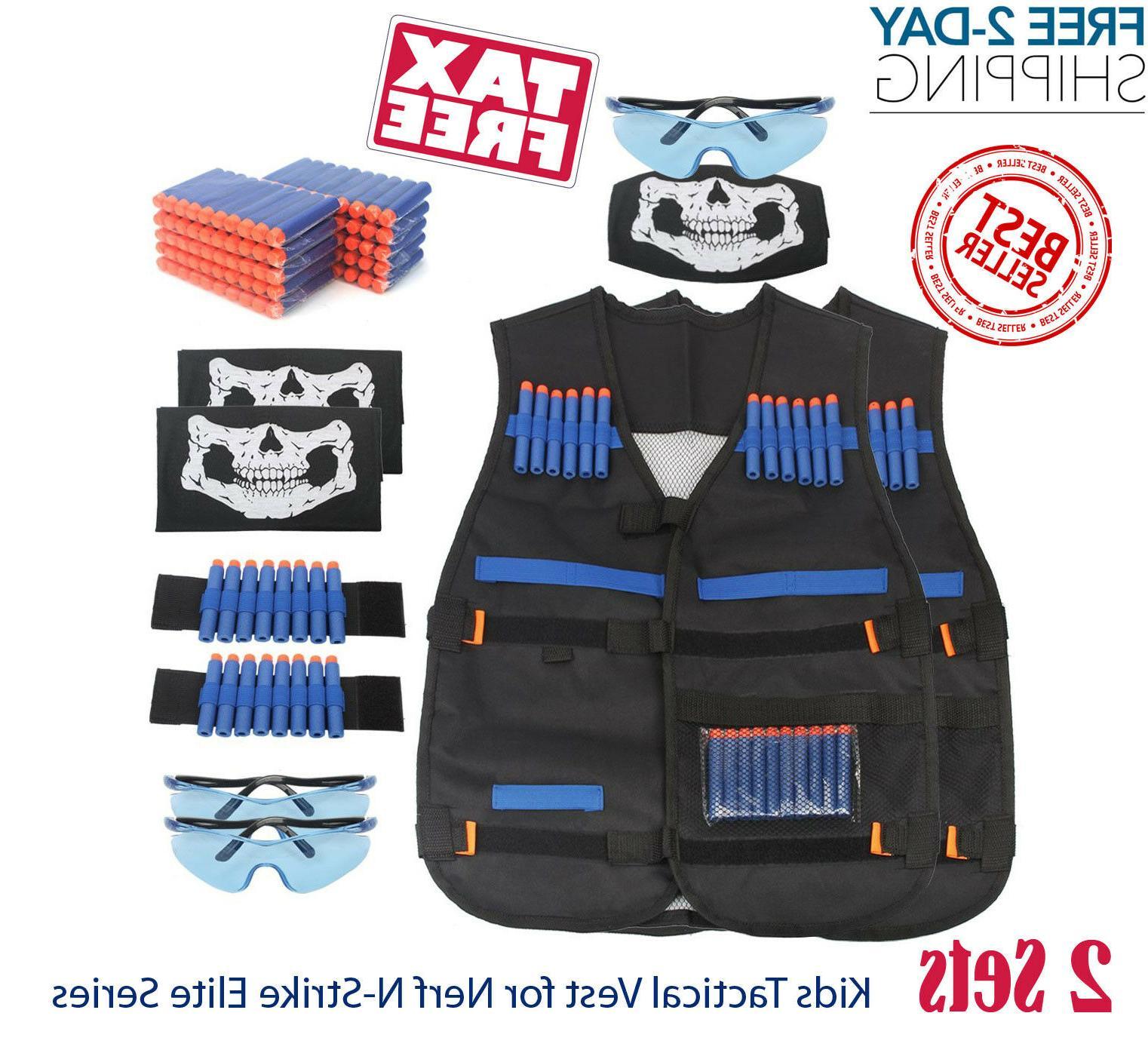 2 set tactical vest suit jacket kit