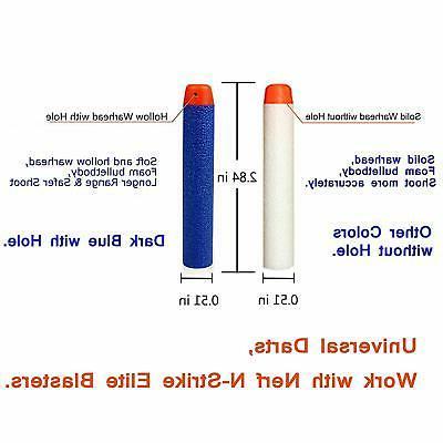 AMOSTING Refill Foam Bullets Nerf N-Strike -