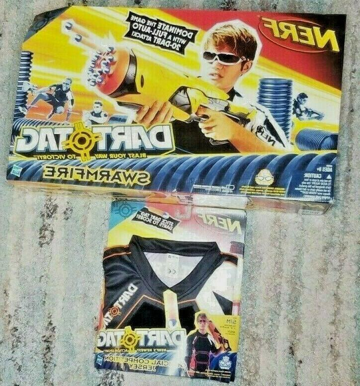 2010 hasbro swarmfire dart tag gun