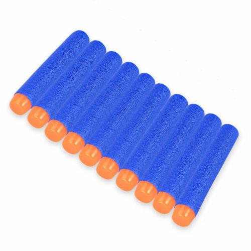 10-1000pcs For Kids Bullet Darts Round Blasters