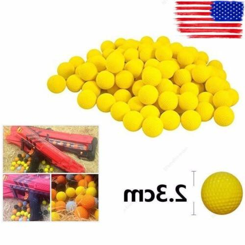 100Pcs Bullet Balls Rounds Compatible For Nerf Rival Apollo