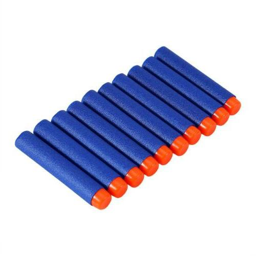 500PCS Bullet NERF N-Strike Gun Head Blue US