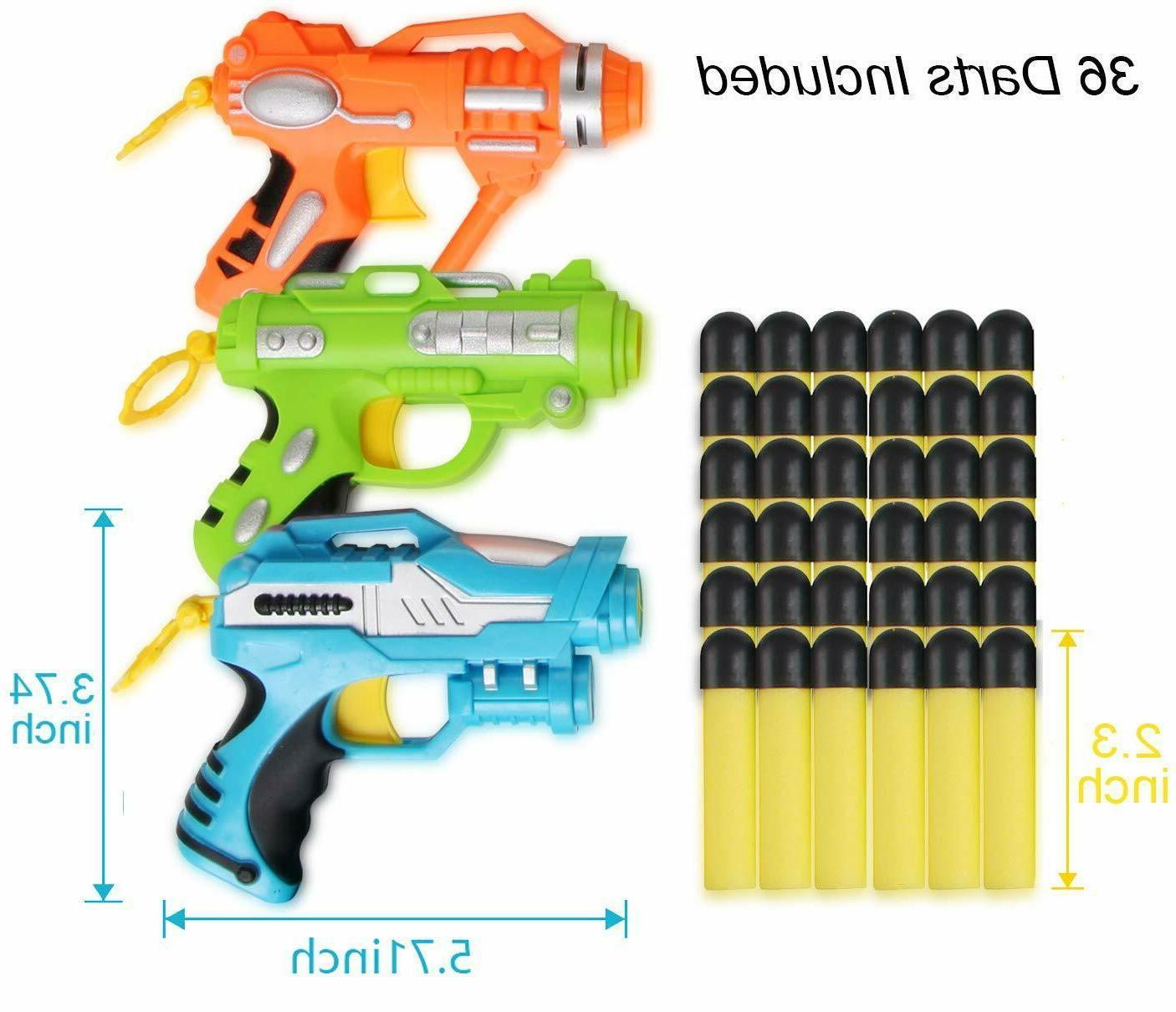 6 set Gun Nerf Gun N-Strike Elite Foam