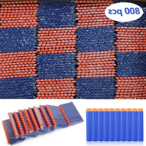 800 pcs soft darts foam eva bullets