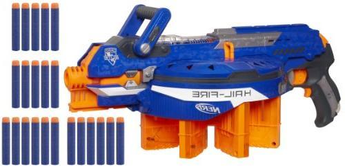 Nerf Elite Hail-Fire Blaster