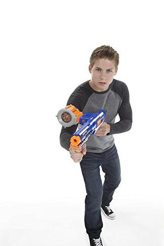 Nerf Rampage N-Strike Toy Dart and 25 Foam Teens,