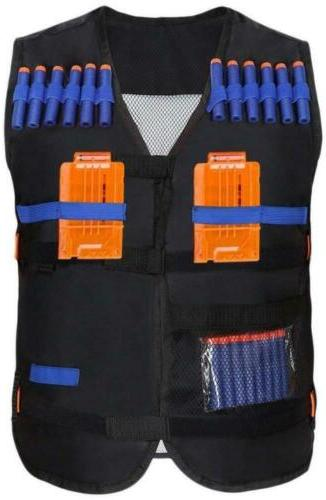 Yosoo Kids Elite Tactical Vest with 20 Pcs Soft Foam Darts f