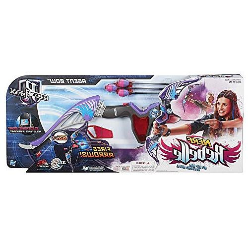 Nerf Agent Blaster Purple with Bonus Pack