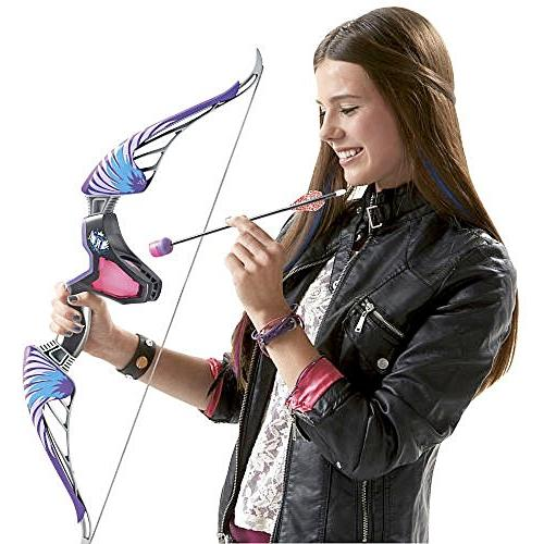 Nerf Rebelle Agent Bow Blaster with Purple with Bonus Pack