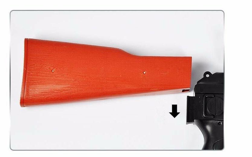 AK Gun 3Pcs 400Pcs Water Absorb Bullet Pistol Gun rifiel