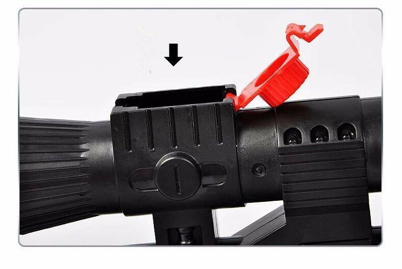 AK 47 Toy 3Pcs Water Pistol Gun